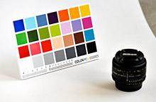 Charte de référence de couleurs